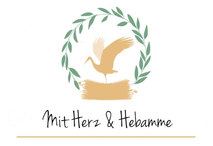 Mit Herz und Hebamme Logo